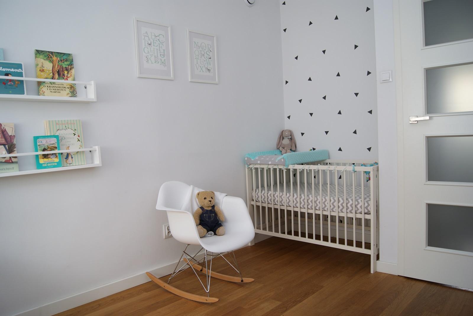Minimalistyczny pokój chłopców