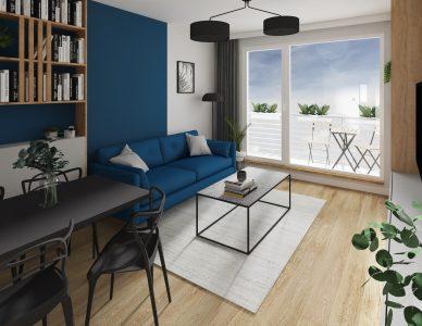 Mieszkanie 46m3
