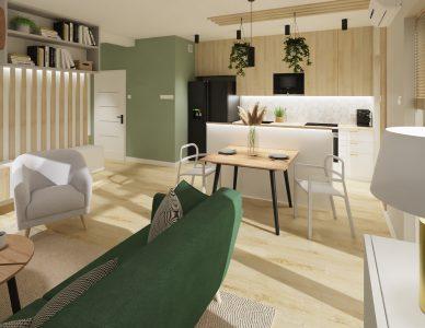 Mieszkanie 61m2